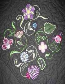 Embroidered Fabric & Textiles