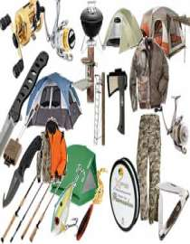 Camping, Fishing & Hunting Goods Supplier