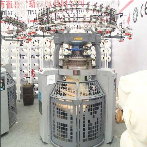 Auto Stripper Circular Knitting Machine