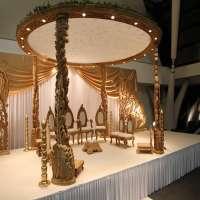 Wooden Wedding Mandap