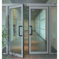 Steel Glass Door