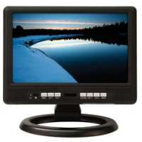 Flat Portable LCD TV