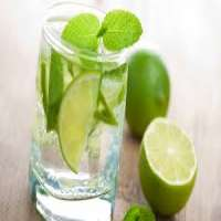 Green lemon drink