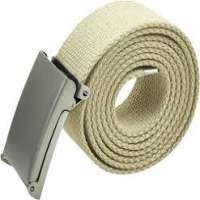 Cotton Canvas Belt