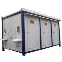 FRP Toilet Block