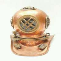 Vintage Diver Helmet
