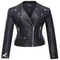 Womens Leather Blazer
