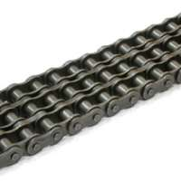 Triple strand roller chain