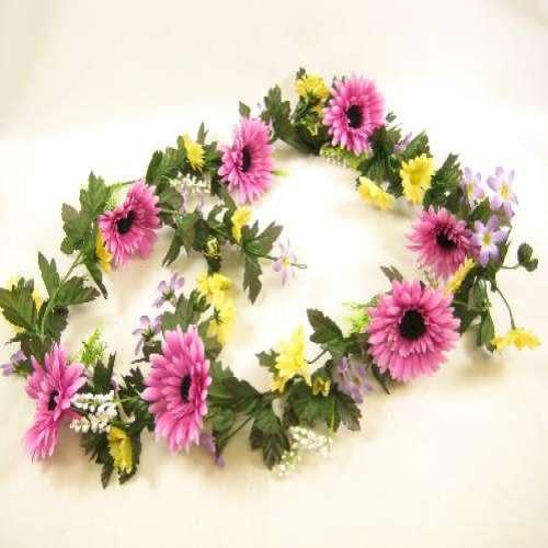Artificial Flowers Garland