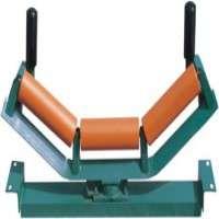 Self aligning conveyor idler