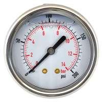 Glycerin Filled Pressure Gauge