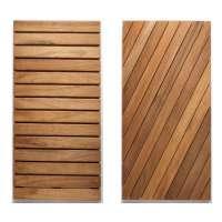 Teak Deck Tile