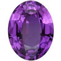 Oval Cut Gemstone