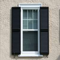 Louvered Exterior Shutters