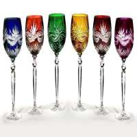 Colored Crystal Glass