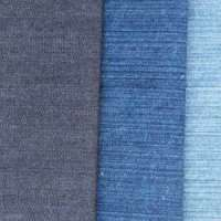 Slub stretch denim fabric