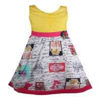 Digital printed dress