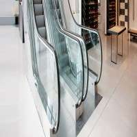 Escalator Glass