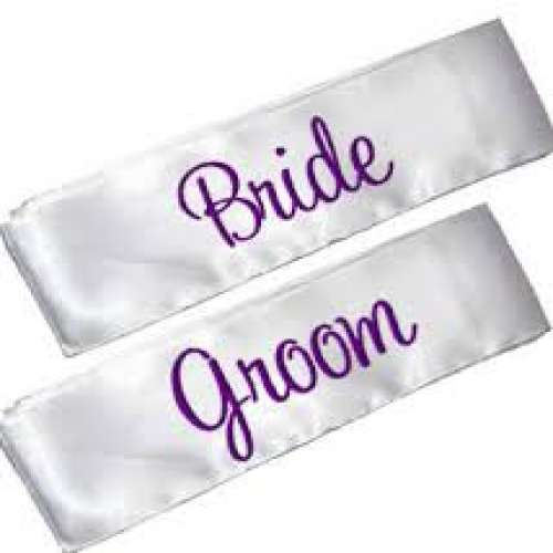 Personalized Sashes
