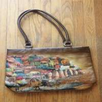 Hand Painted Leather Goods