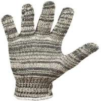 Knitted working glove