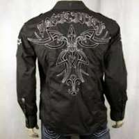 Embroidered Men Shirt