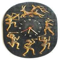 Terracotta Wall Clock