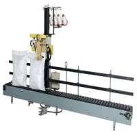 Slat conveyor base sewing system