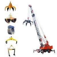 Grab Bucket Crane