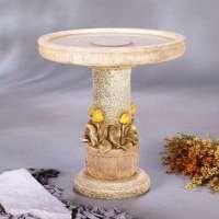 Marble Bird Bath 2