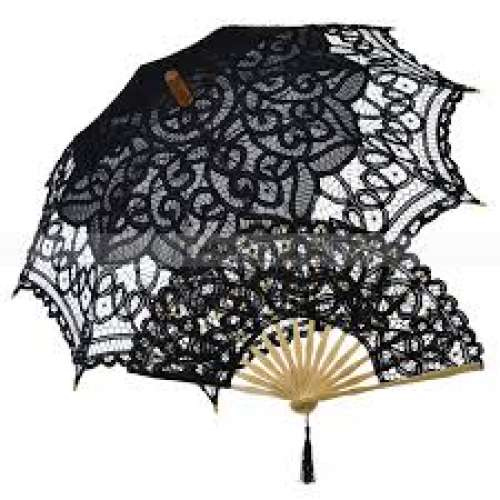 Embroidered Umbrella