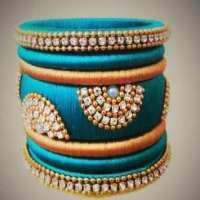 Handmade Thread Bangles