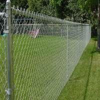 Galvanized Fence