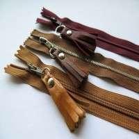 Leather Zipper
