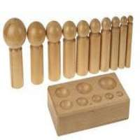 Wooden Dapping Punch Set