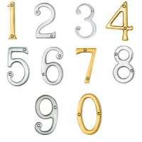 Brass Door Numeral