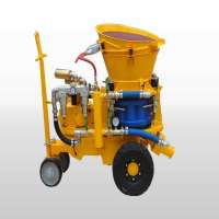 Shotcrete equipment