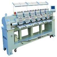 Flat Bed Embroidery Machine