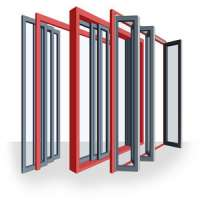 Collapsible Door Frame