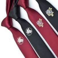 Embroidered Necktie