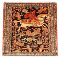 Silk on Silk Carpets