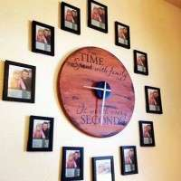 Photo Wall Clock