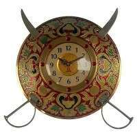Sword Armour Wall Clock