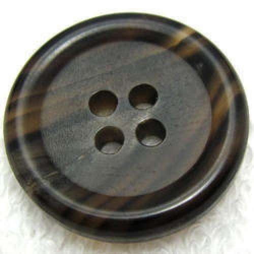 Buffalo Horn Button