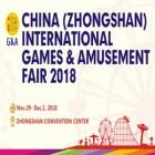 China (Zhongshan) International Games & Amusement Fair 2018 (G&A 2018)