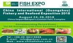 China International (Guangzhou) Fishery and Seafood Exposition 2018 (FISHEX 2018)