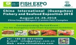 China International (Guangzhou) Fishery and Seafood Exposition 2018 (FISHEX 2018)
