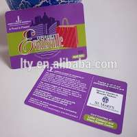 Full color printing plastic card pvc card printingmembership card