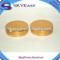 Gold Oxidation Aluminum Screw Caps Plastic Insert Manufacturer