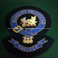 Hand Pocket Embroidery Badges Manufacturer